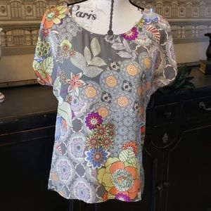 Bobeau  Colorful blouse